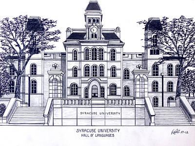 Syracuse University Poster by Frederic Kohli