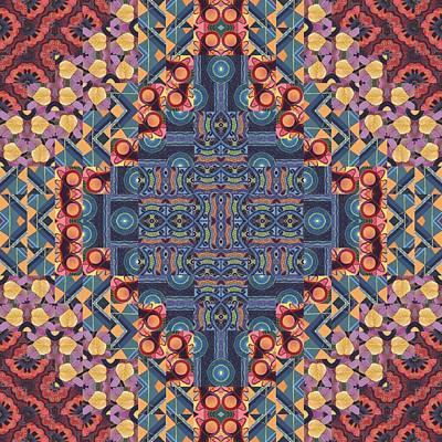 T J O D 5-5 Original Arrangement 4 Poster by Helena Tiainen