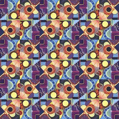 T J O D Tile Variations 11 Poster