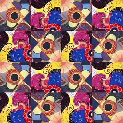 T J O D Tile Variations 14 Poster