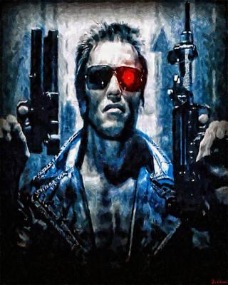 T800 Terminator Poster