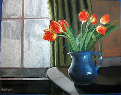 Table Top Tulips Poster