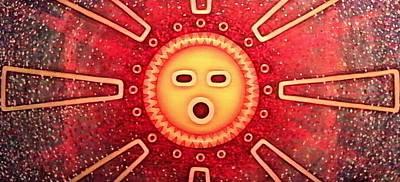 Taino Sun Poster
