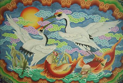 Taiwan, Peimen, Nankunshen Temple Poster