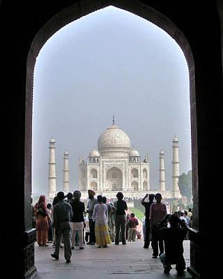 Taj Mahal 2 - Agra India Poster