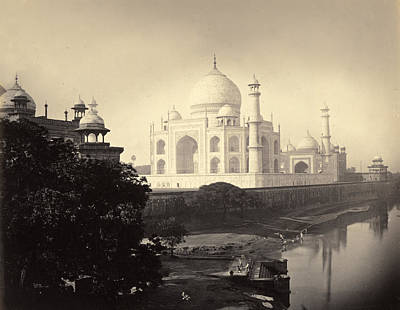 Taj Mahal, Agra, India, 1870 Poster by Getty Research Institute