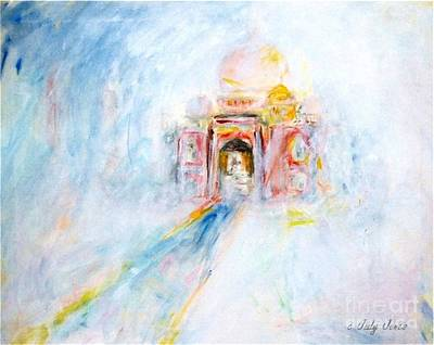 Taj Mahal Poster by Judy Joy Jones