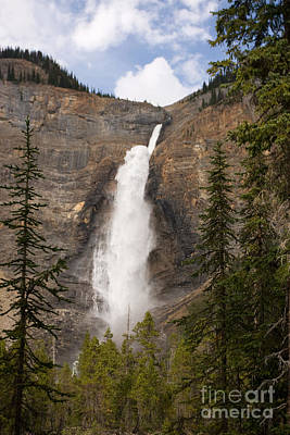 Poster featuring the photograph Takakkaw Falls by Chris Scroggins