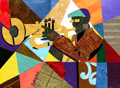 Take Five Poster by Everett Spruill