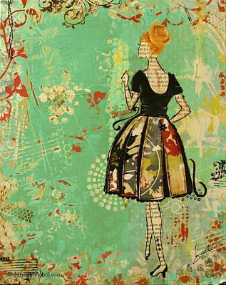 Take Me Away Poster by Janelle Nichol
