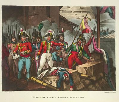 Taking Of Ciudad Rodrigo Poster by British Library