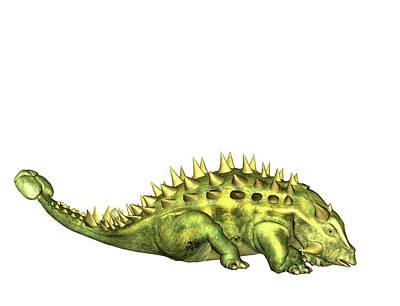 Talarurus Dinosaur Poster