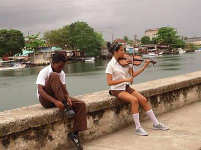 Talent In Cuba Poster by Ashley Farrell