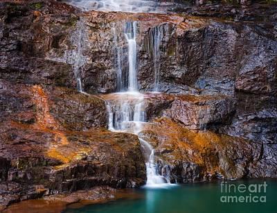 Talisker Waterfall IIi Poster by Maciej Markiewicz