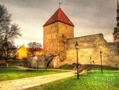 Tallinn Estonia Castle Poster by Yury Bashkin
