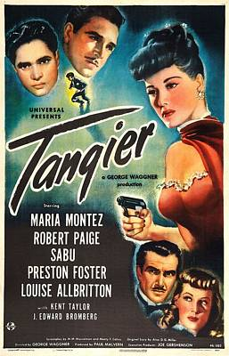 Tangier, Us Poster, Left From Top Sabu Poster by Everett