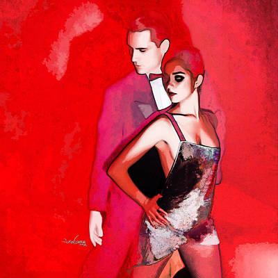 Tango Argentino - Sensual Erotic Poster