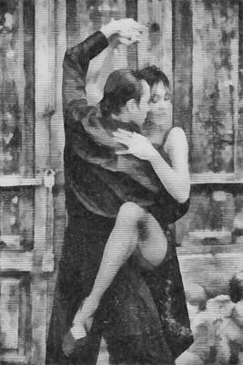 Tango Poster by Ayse Deniz