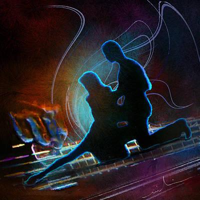 Tangoscape 04 Poster by Miki De Goodaboom