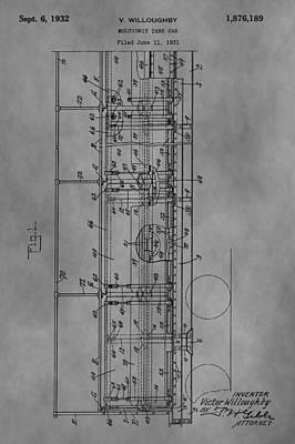 Tank Car Patent Poster