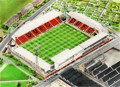 Tannadice Park - Dundee United Fc Poster by Brian Casey