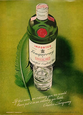 Tanqueray Gin Poster