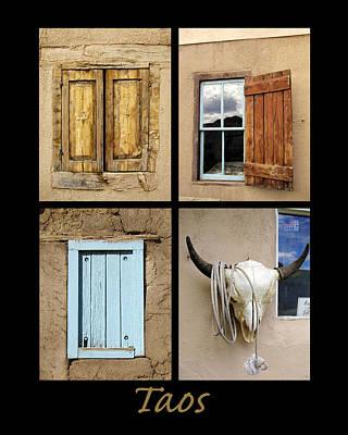 Taos Windows  Poster