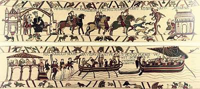 Tapestry Of Bayeux. The Complete Poster by Everett