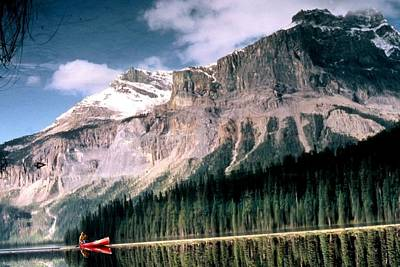 Tranquility...emerald Lake Canada Poster by Peggy Stokes