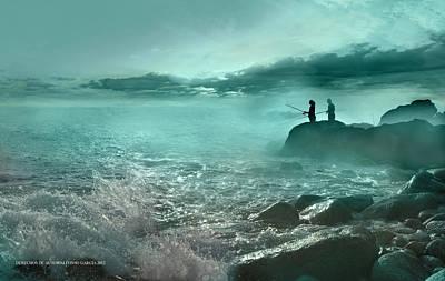 Tarde De Pesca Poster by Alfonso Garcia