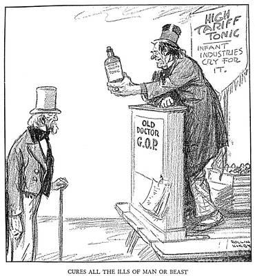 Tariff Bill, 1921 Poster by Granger