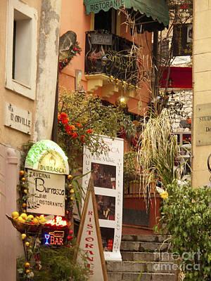 Taormina Steps Poster by David Smith