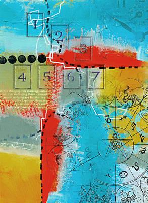 Tarot Art Abstract Poster