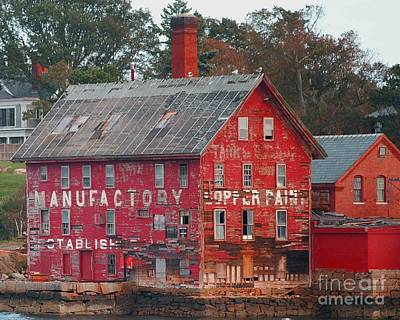 Tarr And Wonson Paint Manufactory Poster
