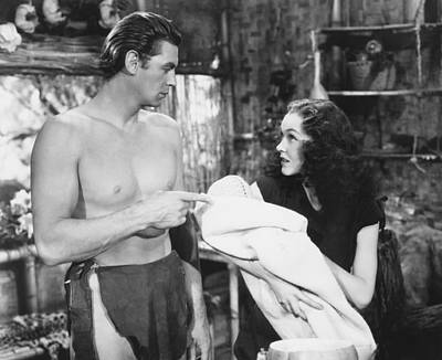 Tarzan Finds A Son, From Left, Johnny Poster