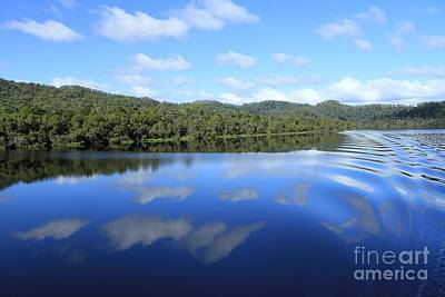Tasmanian Reflexions All Profits Go To Hospice Of The Calumet Area Poster