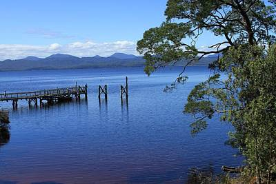 Tasmanian Stillness All Profits Go To Hospice Of The Calumet Area Poster