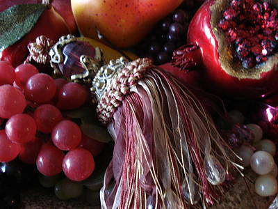 Tassel With Fruit Poster