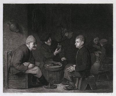 Tasting The Wine, Belgium Poster