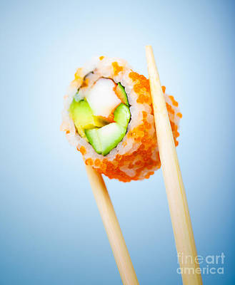 Tasty Sushi Roll Poster