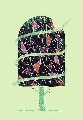Tasty Tree Poster by Hector Mansilla