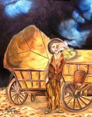 Tattered Canvas Aka Romani Messiah Poster