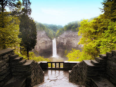Taughannock Falls Poster by Jessica Jenney