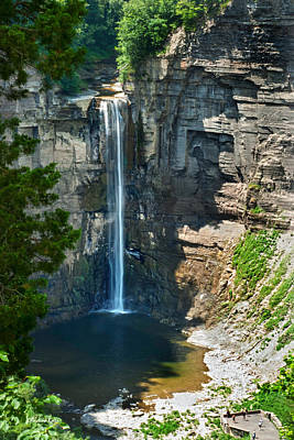 Taughannock Falls Poster by Christina Rollo