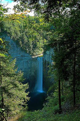 Taughannock Falls Ithaca New York Poster by Paul Ge