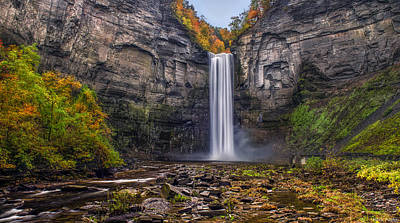 Taughannock Falls Poster by Mark Papke