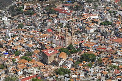 Taxco Overview  Poster by Salvador Penaloza