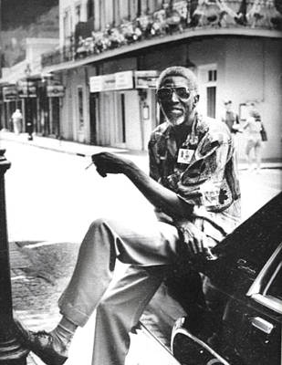 Taxi Driver In New Orleans Circa 2000 Poster