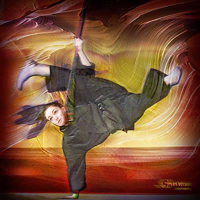 Taylor Lynch Action Portrait Poster by Salakot