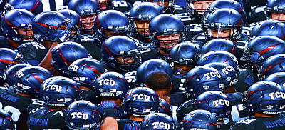 Tcu Horned Frogs Poster